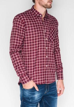 Рубашка Ombre. Цвет: красный