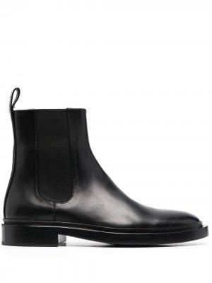 Ботинки челси Jil Sander. Цвет: черный