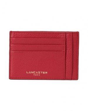 Чехол для документов LANCASTER. Цвет: красный