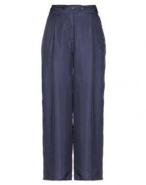 Повседневные брюки MAISON FLÂNEUR. Цвет: темно-синий