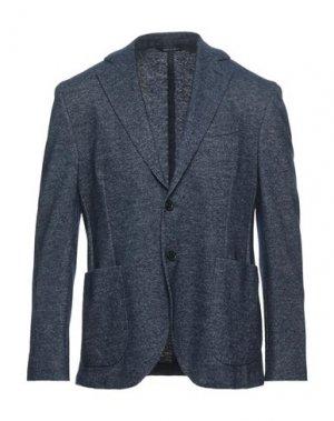 Пиджак CARRACCI. Цвет: темно-синий