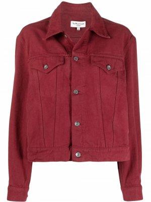 Джинсовая куртка Breakfast Club YMC. Цвет: красный