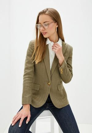 Пиджак Lauren Ralph. Цвет: хаки