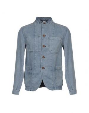 Пиджак CARE LABEL. Цвет: грифельно-синий