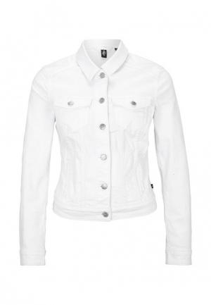 Куртка джинсовая s.Oliver Denim. Цвет: белый