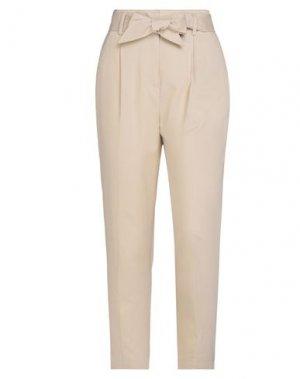 Повседневные брюки EQUIPMENT. Цвет: бежевый
