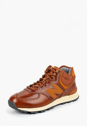 Кроссовки New Balance 574. Цвет: коричневый