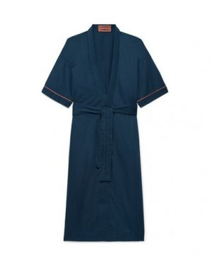 Домашние и банные халаты CLEVERLY LAUNDRY. Цвет: темно-синий
