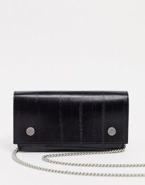 Бумажник Albert-Черный AllSaints