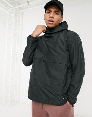Анорак с капюшоном и карманом спереди -Черный цвет Herschel Supply Co