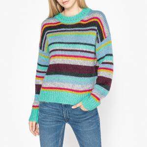 Пуловер из тонкого трикотажа RAFARI ESSENTIEL ANTWERP. Цвет: разноцветный