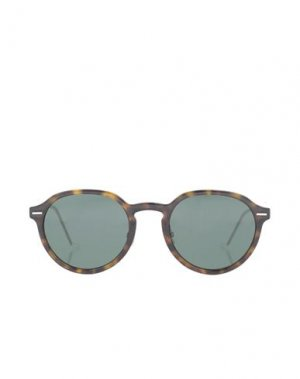 Солнечные очки DIOR HOMME. Цвет: темно-коричневый