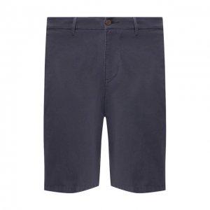 Хлопковые шорты 7 For All Mankind. Цвет: синий