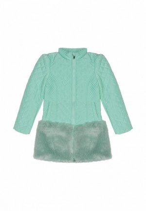 Куртка утепленная Born. Цвет: зеленый