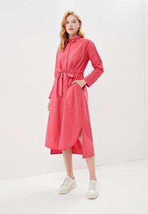 Платье Befree BE031EWBNDH1. Цвет: розовый