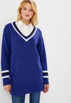 Пуловер By Swan. Цвет: синий