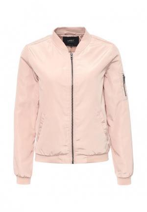 Куртка Only. Цвет: розовый