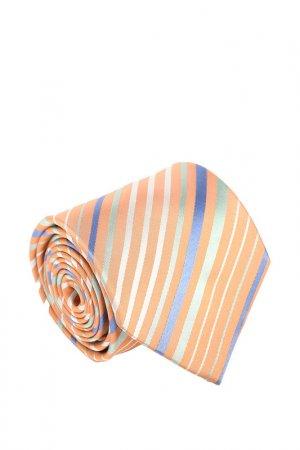 Галстук Basile. Цвет: оранжевый, светло-серый, светл