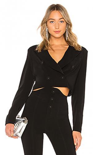 Укороченная куртка mareen NBD. Цвет: черный