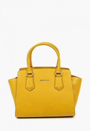 Сумка Gianni Conti. Цвет: желтый