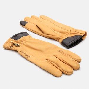 Перчатки, варежки, муфты Nubuck Glove With Touch Tips Timberland. Цвет: желтый