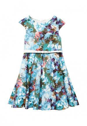 Платье Shened Оттавиа. Цвет: синий
