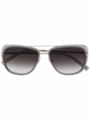 Солнцезащитные очки-авиаторы M3023 Matsuda. Цвет: серый