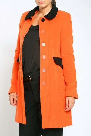 Пальто Collezione di Ines. Цвет: оранжевый