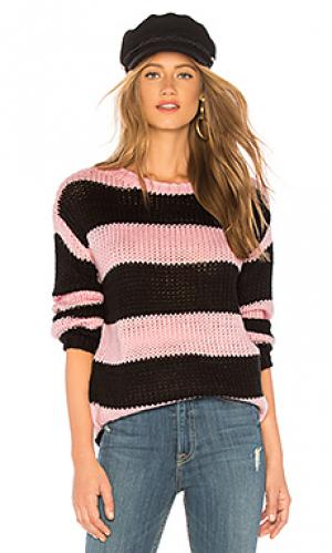 Пуловер amber Lovers + Friends. Цвет: розовый