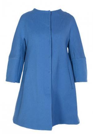 Пальто ALBINO. Цвет: синий