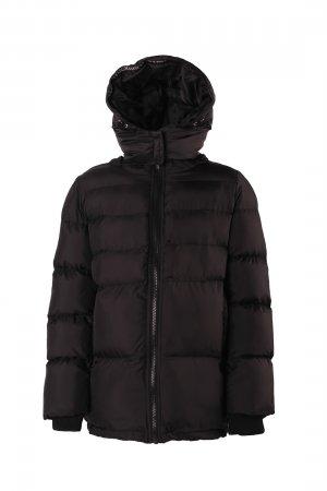 Куртка (Эко пух) baon. Цвет: черный