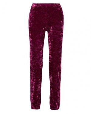 Повседневные брюки ANNA SUI. Цвет: пурпурный