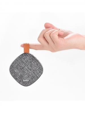 Колонка универсальная Bluetooth BS9 Gray Hoco. Цвет: серый