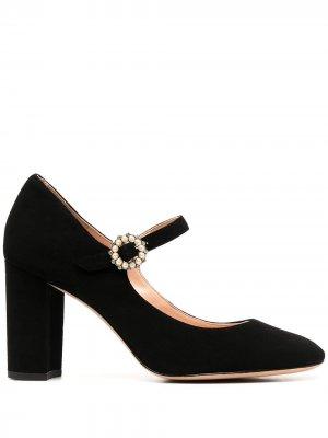 Туфли Мэри Джейн с пряжками Kate Spade. Цвет: черный