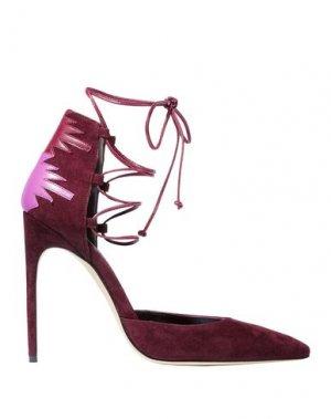 Туфли BRIAN ATWOOD. Цвет: красно-коричневый