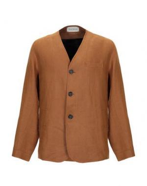 Пиджак OLIVER SPENCER. Цвет: коричневый