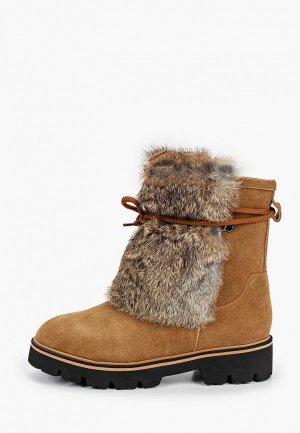 Полусапоги King Boots. Цвет: коричневый