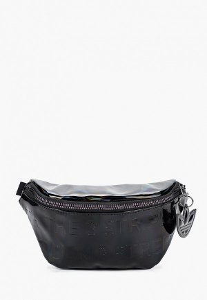 Сумка поясная adidas Originals WAISTBAG. Цвет: черный