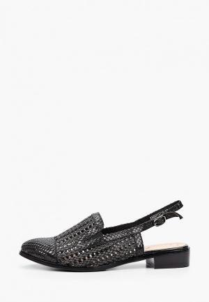 Туфли Balex с увеличенной полнотой. Цвет: черный