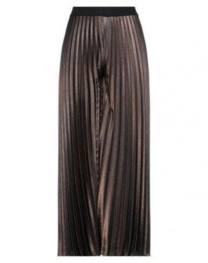 Повседневные брюки GAI MATTIOLO. Цвет: бронзовый