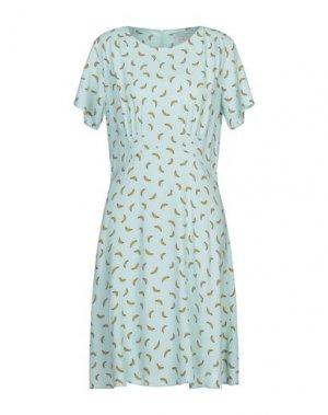 Короткое платье NÜMPH. Цвет: светло-зеленый