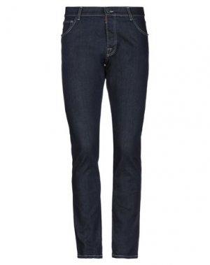 Джинсовые брюки CASTELBAJAC. Цвет: синий