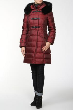Пальто Lawine. Цвет: красный