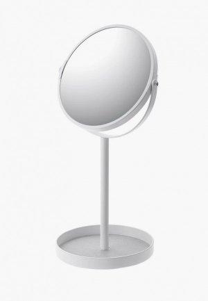 Зеркало настольное Yamazaki TOWER. Цвет: белый