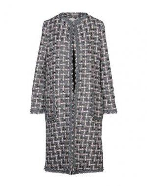 Легкое пальто BALLANTYNE. Цвет: серый