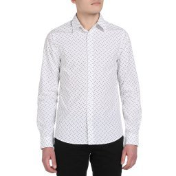 Рубашка J30J314218 белый CALVIN KLEIN JEANS