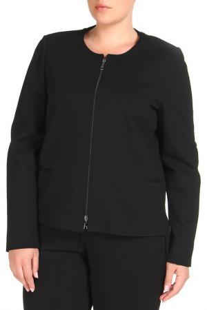 Пиджак Elena Miro. Цвет: черный, подкладка, принт