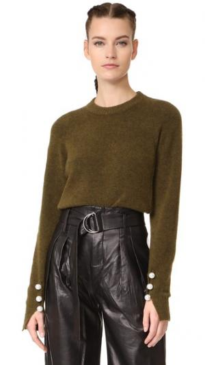 Pullover with Imitation Pearl Cuffs 3.1 Phillip Lim