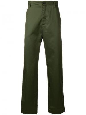 Брюки-чинос Bernard Joseph. Цвет: зеленый