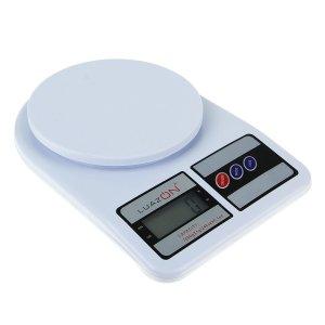 Весы кухонные luazon lvk-704, электронные, до 7 кг, белые Home